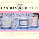 Candles and Quotes 125 x 125