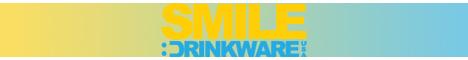 Smile Drinkware 468 x 60